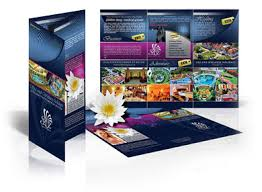 Folded Brochures Full Color 170gsm Single Side-0