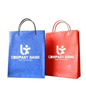 Custom Shopping Paper Carry Bag 12X10X3-0