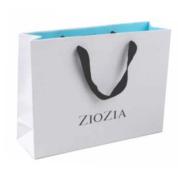 Shopping Paper Carry Bag 14X12X3-0