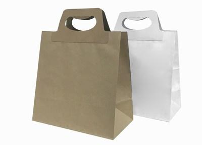 Die Cut Handle Paper Bags Wholesale