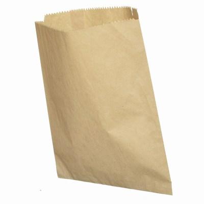 Flat Brown Paper Merchandise Bags Wholesale