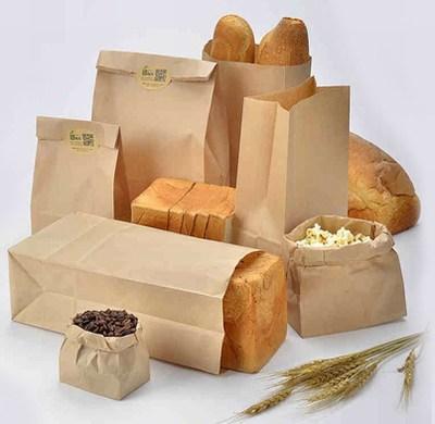 Food Paper Bags Wholesale, Food packaging paper bag