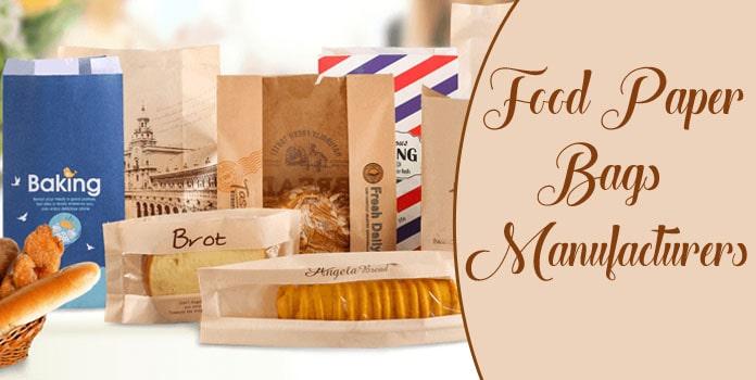 Food Paper Bags Manufacturers, Paper Food Packaging Bag India
