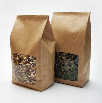 Window Paper Bags, Food packaging Paper Bags with Window Wholesale