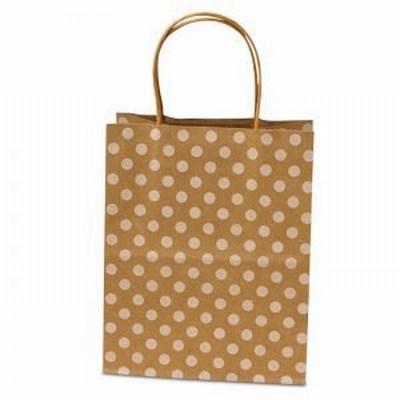 Polka Dot Twisted Handle Bags