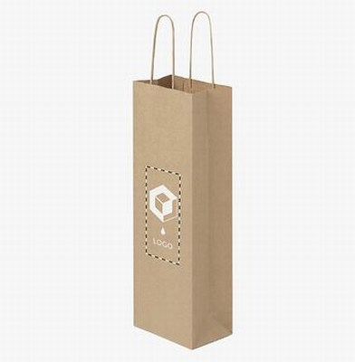 twisted handle paper wine bags wholesale