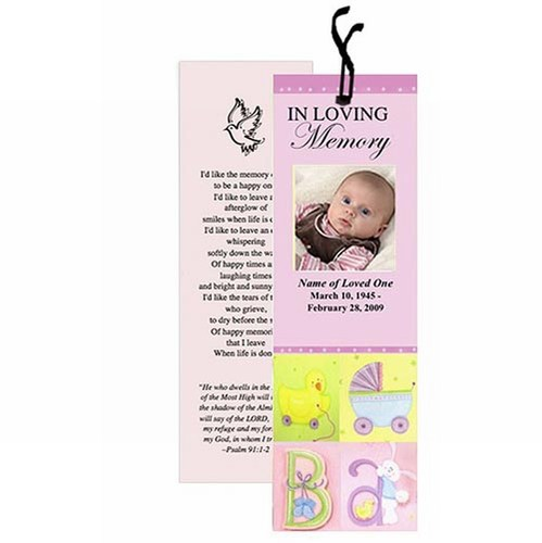 Custom Baby Name Bookmarks