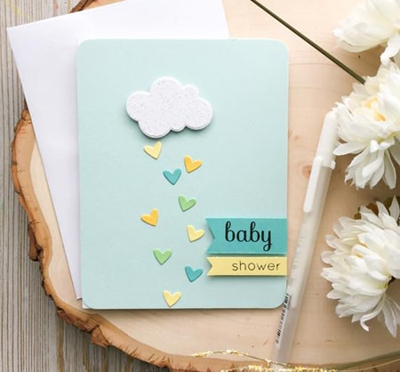 Personalized Baby Shower Cards, New Baby Cards