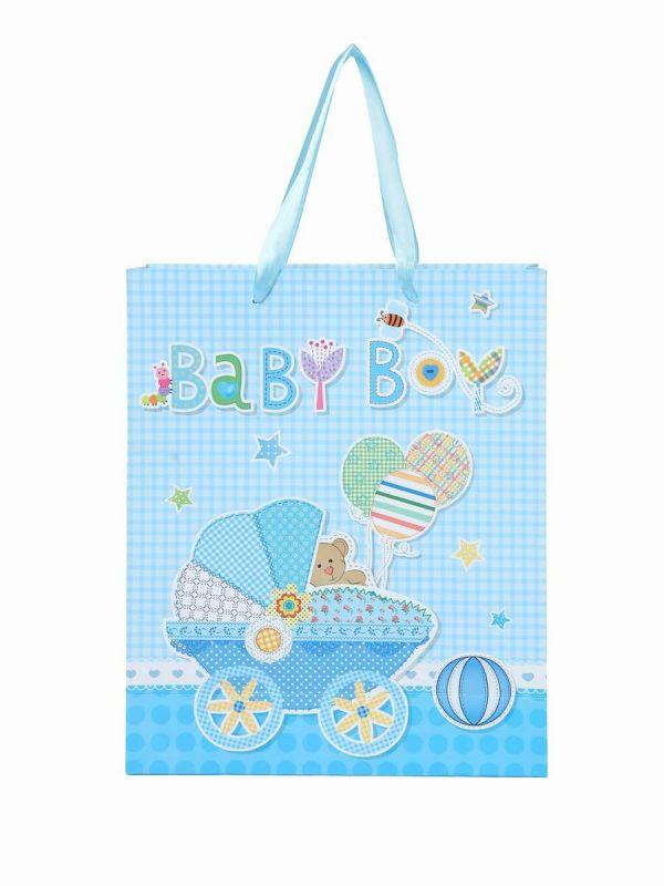 Baby Shower Return Paper Bag