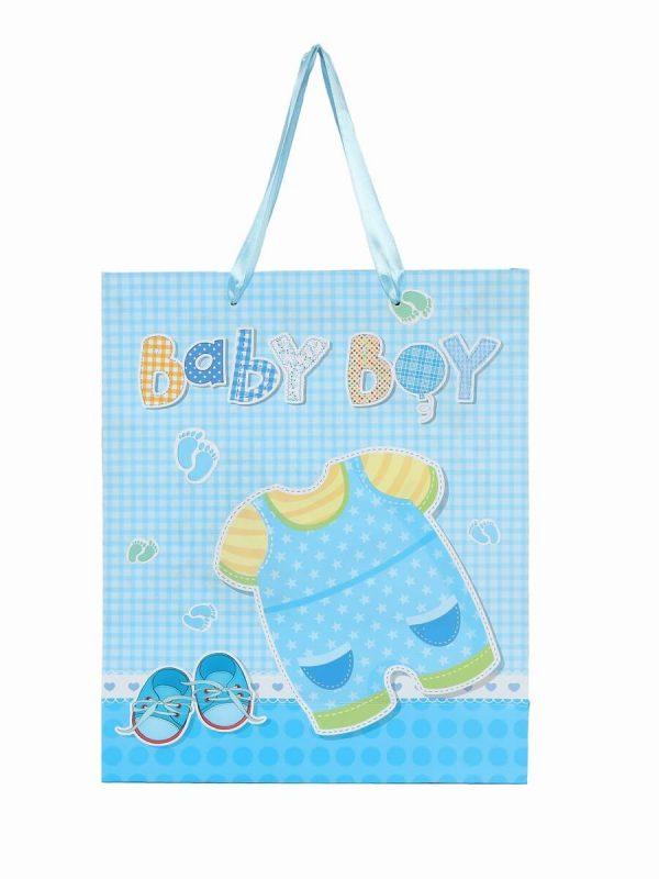 Boy Baby Shower Gift Paper Bag
