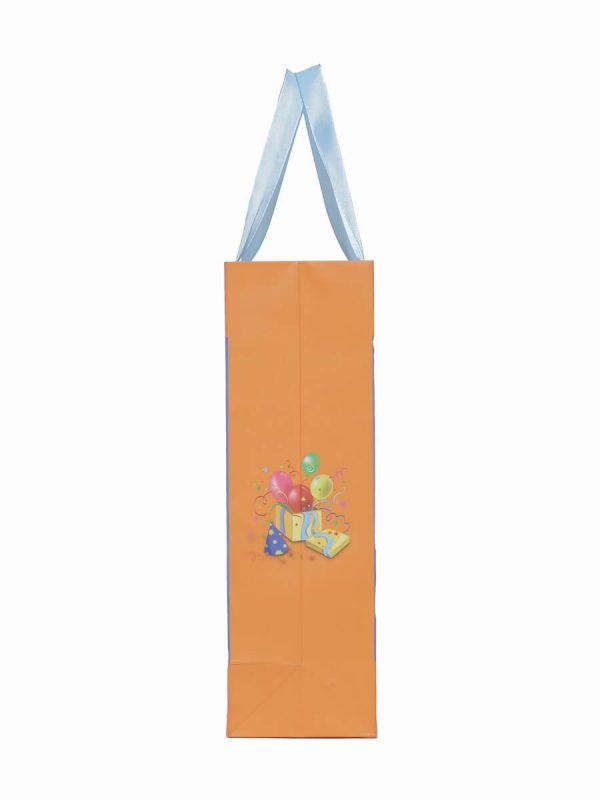 Wholesale Happy Birthday Print Paper Bags