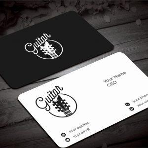 Custom Guitar Card