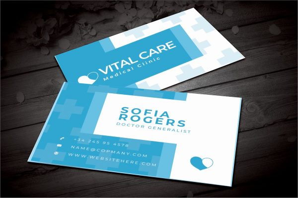 Doctor Visiting Cards