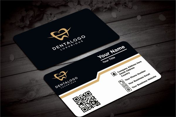 Round Business Visiting Card