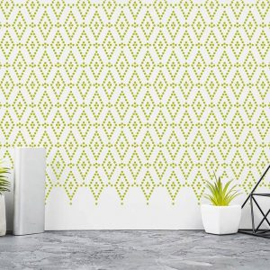 Bedroom Modern Geometric Wall Paint