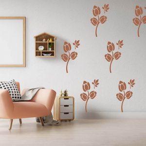 Beautiful Flower Stencil